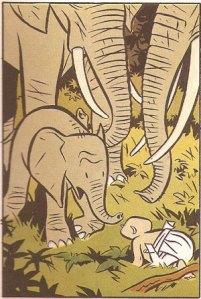 El cementerio de los elefantes. Y. Chaland